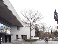 今朝の散歩(仙台市博物館付近)