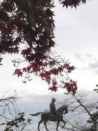 今朝の散歩(仙台城跡付近)