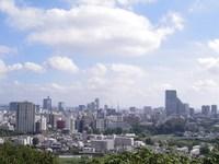 今朝の散歩(仙台城址付近)