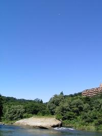 今日の散歩(牛越橋付近)