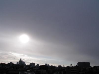 太陽を背にうけて♪