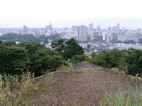 今朝の散歩(仙台城跡)