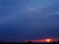 仙台の朝日