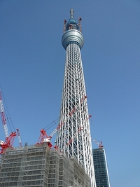 東京スカイツリー世界一