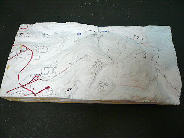 新・被災地ジオラマ製作(第18回):窓滝編2