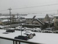 御用納めと降雪