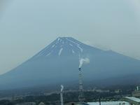 どうしても見てしまう富士山