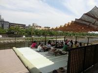 京都の川床料理に意外なルール