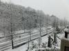 大雪で休講となる