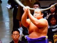 天覧相撲に観客は歓喜