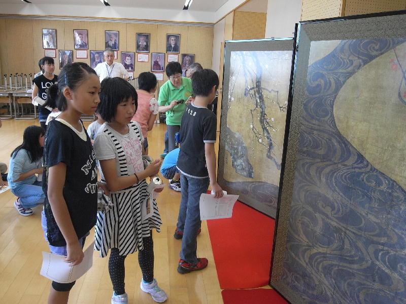 6年生MOA美術文化授業