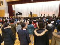 卒業式の歌練習