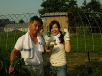 野菜収穫~!!