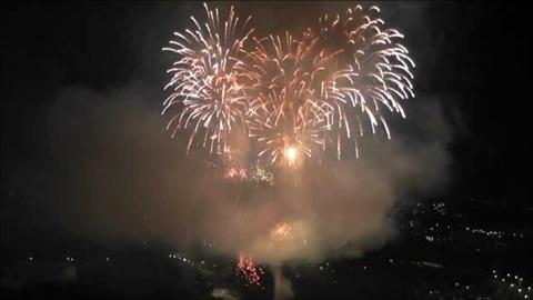 仙台七夕花火祭 2012