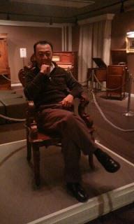 学園長の椅子