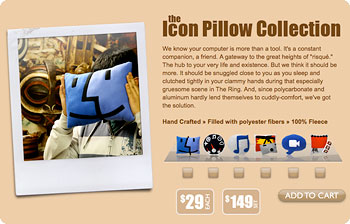the Icon Pillow Collection