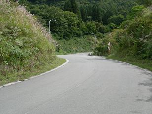 地蔵倉への道。
