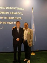 国連での日本人の活躍拝見