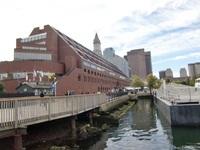 ボストンの港町