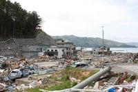 東日本大震災メモリアルに