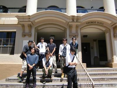 ハワイ大学訪問