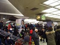 東京駅で新幹線トラブル