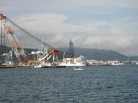 清水での日本港湾経済学会へ