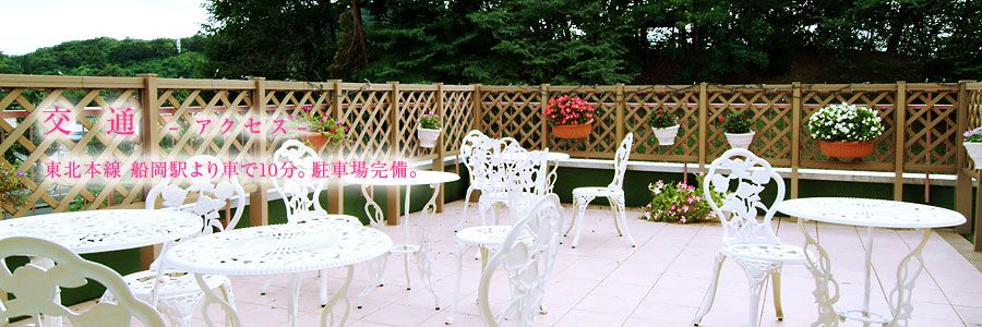 宮上クリニック 交通(アクセス) 東北本線船岡駅より車で10分。駐車場完備