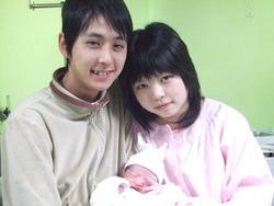 泰楽(たいらく)順子さん、1月10日18時12分分娩