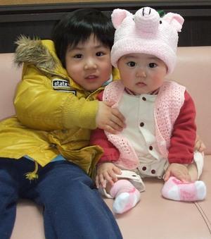 遠藤 香さんのお子さん もう直ぐ8ヶ月