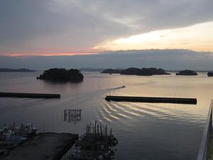 松島の朝日・・・♪