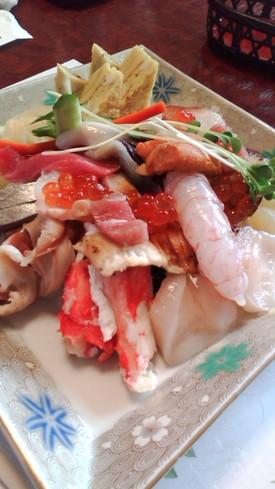 塩釜でお寿司♪