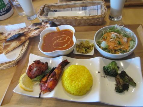 インド料理だあ♪