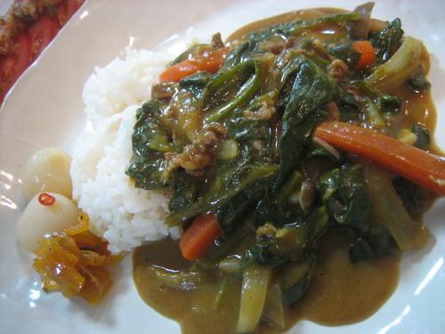 牛肉と野菜のカレー♪