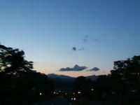 昨日の夕陽♪②