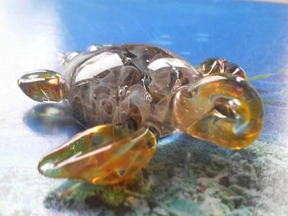 妖艶ガラス 『妖艶ウミガメ』