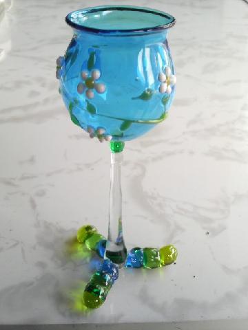 ガラス細工 『花のグラス』