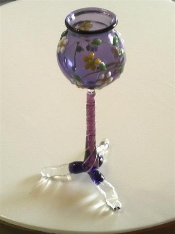 ガラス細工 『花飾り』