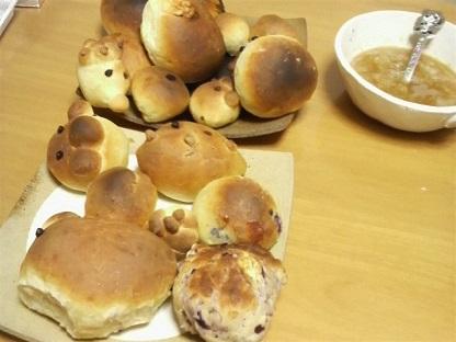 お絵かきとパン作り