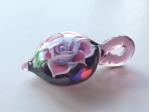 ガラス細工 『大輪の薔薇』