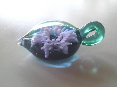 ガラス細工 『雪の結晶』
