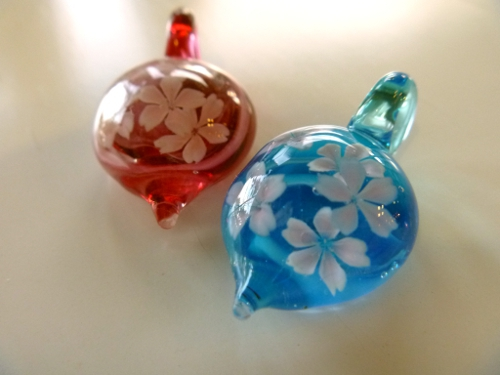 ガラス細工 『桜咲く』
