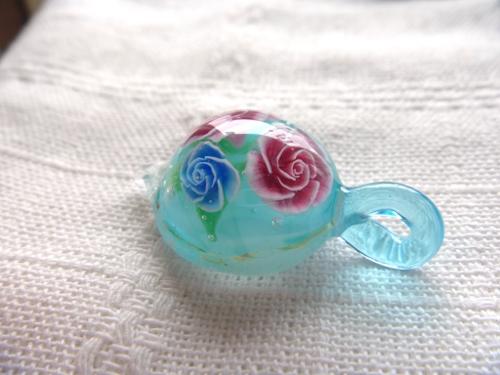 ガラス細工 『薔薇』