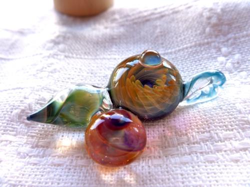 妖艶ガラス 『クルクル』
