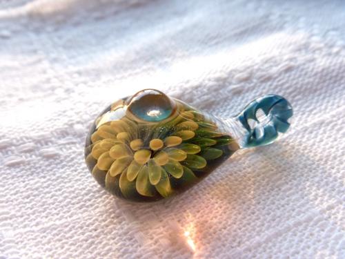妖艶ガラス 『花滴』