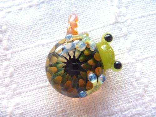 妖艶ガラス 『かえるの巣』