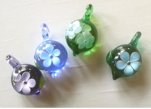 ガラス細工 『一輪の花』