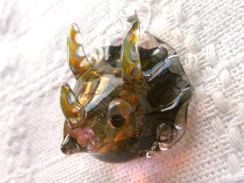 妖艶ガラス 『トリケラトプス』