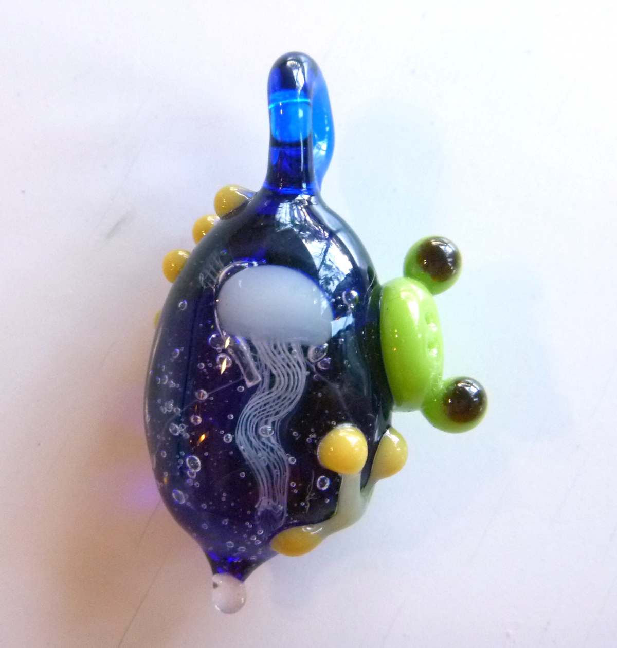 ガラス細工 『海月とかえる』
