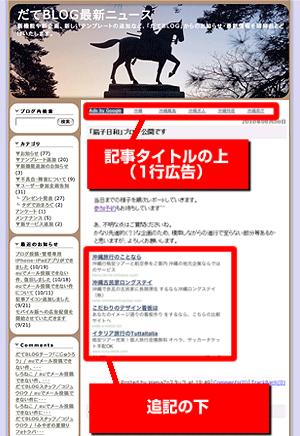 【重要】ブログへ表示される広告表示位置変更のお知らせ